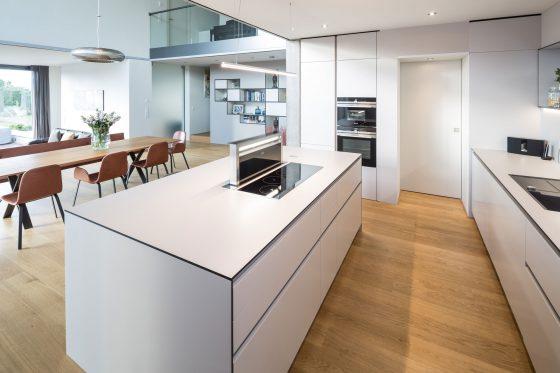 Küche als Mittelpunkt des Wohnens