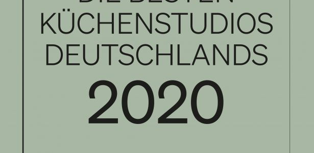 Auszeichnung unter den besten Küchenstudios Deutschlands 2020