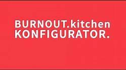 outdoor Küche burnout- Grillen