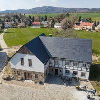 Küche im Landhaus in der Lausitz